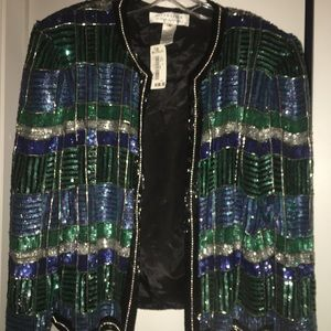 Nite line by Della Roufogali  Med sequence jacket